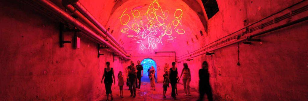 Das Zentrum für internationale Lichtkunst Unna